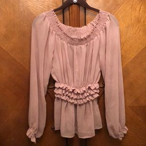 Forever 21 Blush Pink blouse